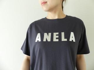 ハイゲージ天竺ロゴTシャツ ANELAの商品画像14