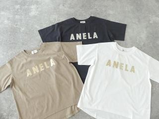 ハイゲージ天竺ロゴTシャツ ANELAの商品画像19