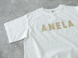 ハイゲージ天竺ロゴTシャツ ANELAの商品画像23