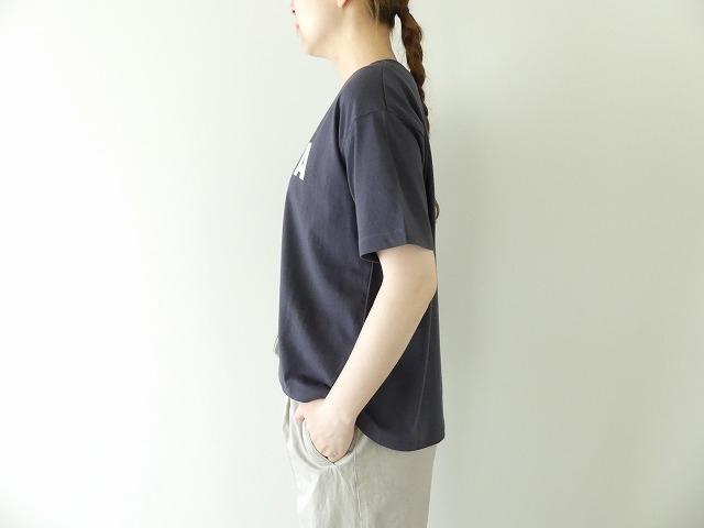 ハイゲージ天竺ロゴTシャツ ANELAの商品画像4