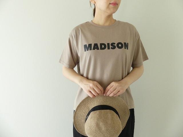 ハイゲージ天竺ロゴTシャツ MADISONの商品画像1