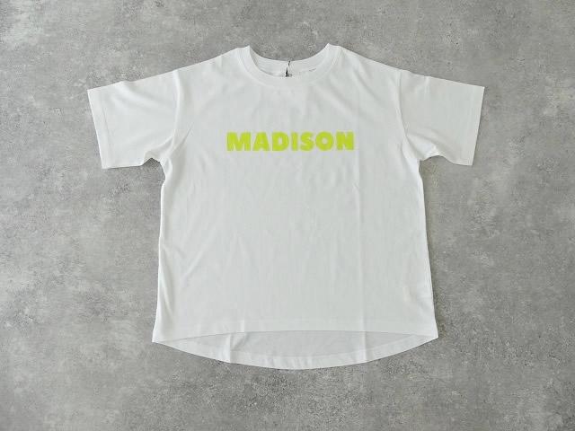 ハイゲージ天竺ロゴTシャツ MADISONの商品画像10