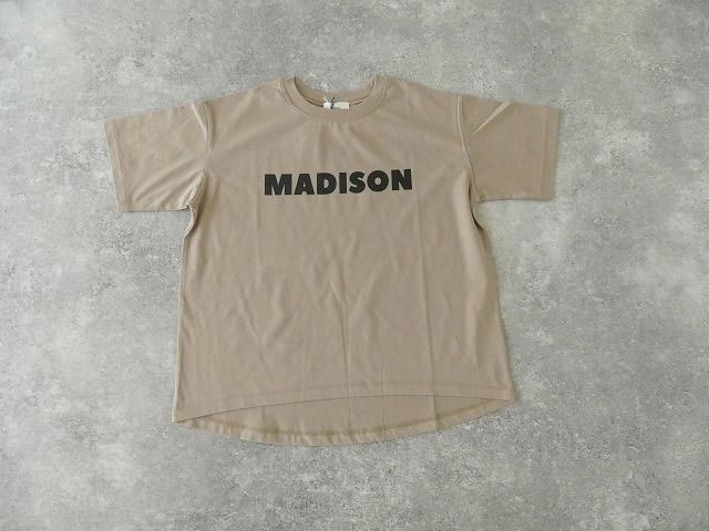 ハイゲージ天竺ロゴTシャツ MADISONの商品画像11