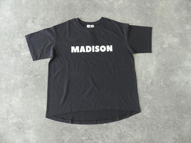 ハイゲージ天竺ロゴTシャツ MADISONの商品画像12