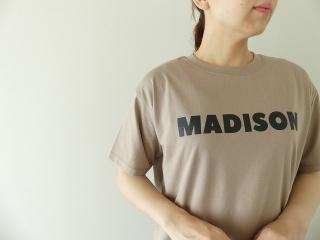 ハイゲージ天竺ロゴTシャツ MADISONの商品画像14