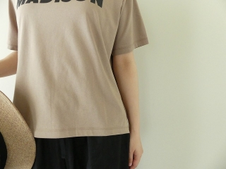 ハイゲージ天竺ロゴTシャツ MADISONの商品画像16