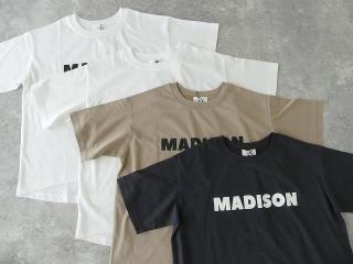 ハイゲージ天竺ロゴTシャツ MADISONの商品画像18