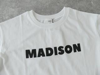 ハイゲージ天竺ロゴTシャツ MADISONの商品画像19