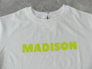 ハイゲージ天竺ロゴTシャツ MADISONの商品画像20