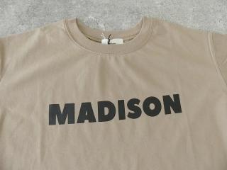 ハイゲージ天竺ロゴTシャツ MADISONの商品画像22