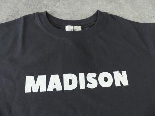 ハイゲージ天竺ロゴTシャツ MADISONの商品画像23