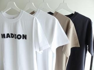 ハイゲージ天竺ロゴTシャツ MADISONの商品画像24