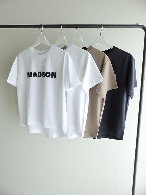ハイゲージ天竺ロゴTシャツ MADISONの商品画像6
