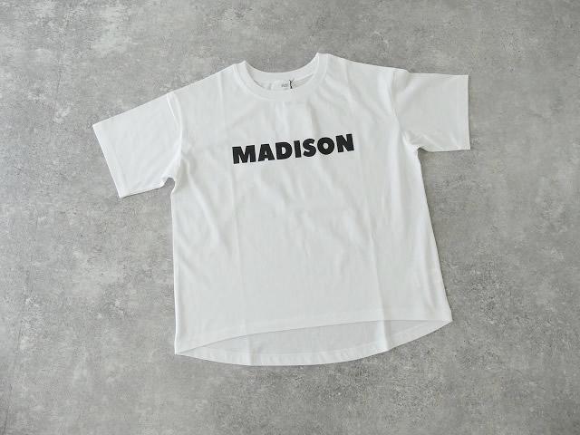 ハイゲージ天竺ロゴTシャツ MADISONの商品画像9