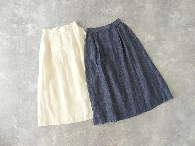 リネンデニムスカートの商品画像10
