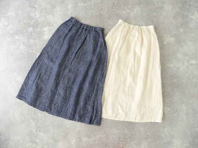 リネンデニムスカートの商品画像11