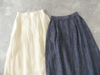 リネンデニムスカートの商品画像16