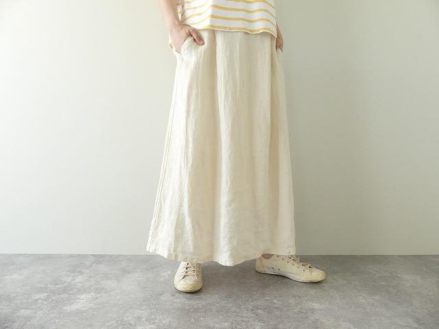 リネンデニムスカートの商品画像2