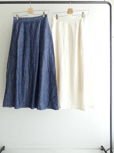リネンデニムスカートの商品画像3