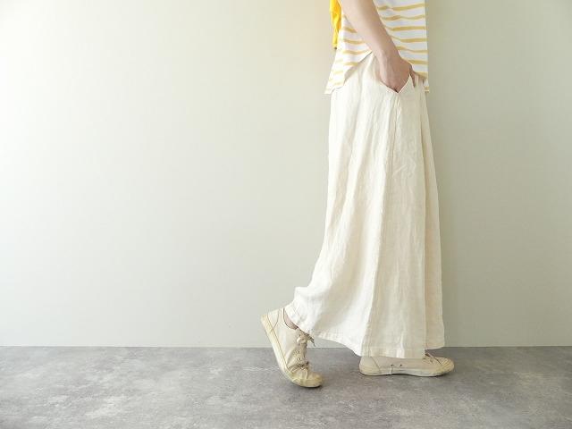 リネンデニムスカートの商品画像4