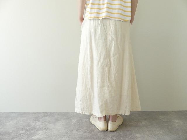 リネンデニムスカートの商品画像5