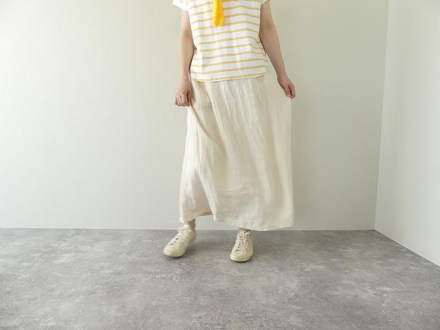 リネンデニムスカートの商品画像6