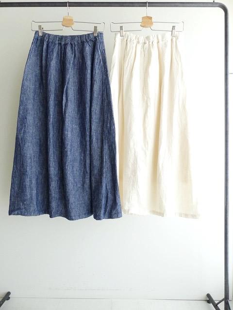 リネンデニムスカートの商品画像9
