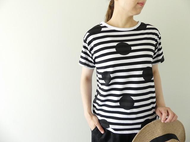 ボーダードットTシャツの商品画像2