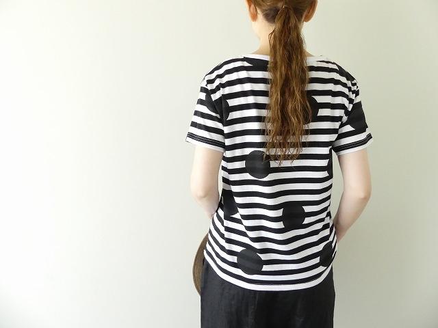 ボーダードットTシャツの商品画像5