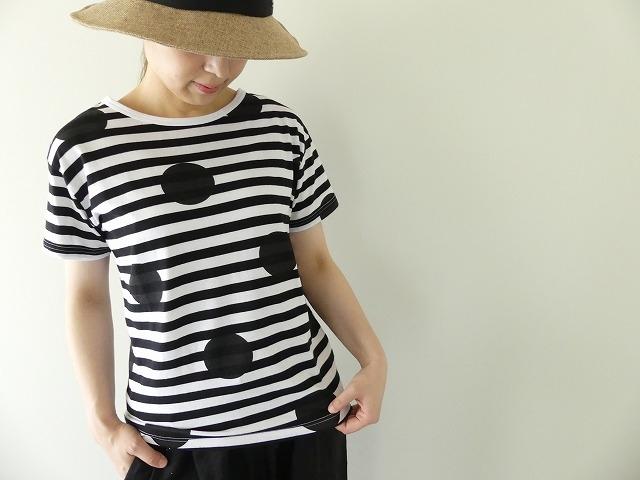 ボーダードットTシャツの商品画像6