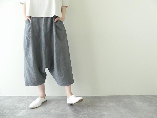 linen sarrouel pants リネンサルエルパンツの商品画像3
