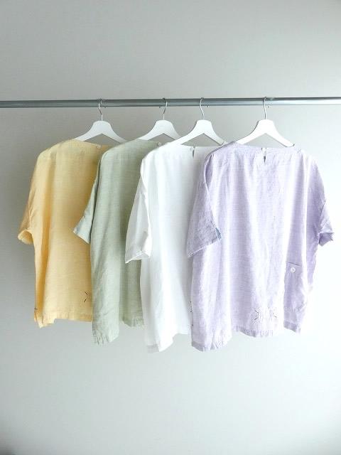 サマーリネンシャンブレーBigポケットTシャツの商品画像10