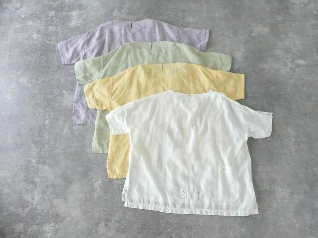 サマーリネンシャンブレーBigポケットTシャツの商品画像12