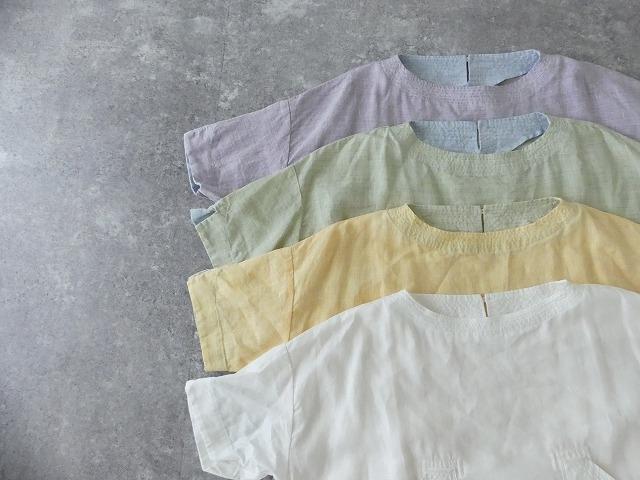 サマーリネンシャンブレーBigポケットTシャツの商品画像13