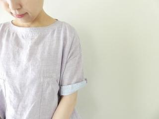 サマーリネンシャンブレーBigポケットTシャツの商品画像16