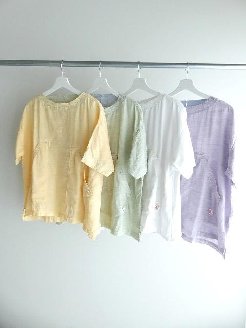 サマーリネンシャンブレーBigポケットTシャツの商品画像3