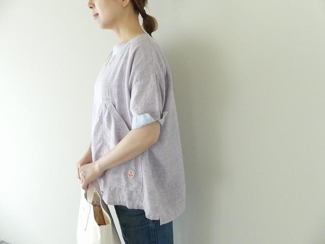 サマーリネンシャンブレーBigポケットTシャツの商品画像4