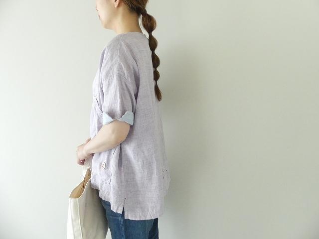 サマーリネンシャンブレーBigポケットTシャツの商品画像5