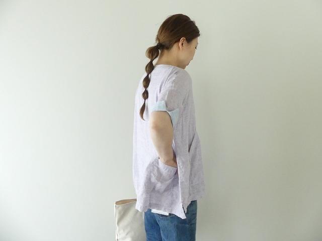 サマーリネンシャンブレーBigポケットTシャツの商品画像6