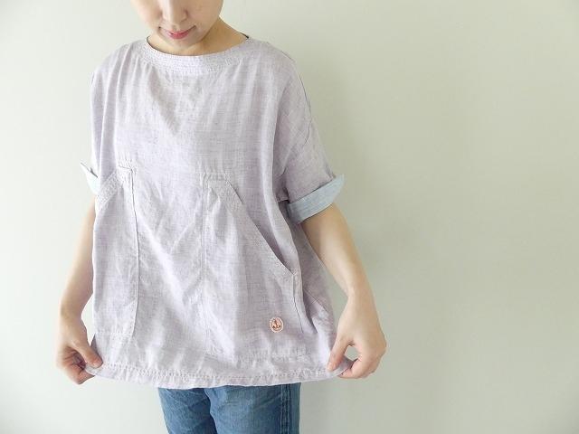 サマーリネンシャンブレーBigポケットTシャツの商品画像8