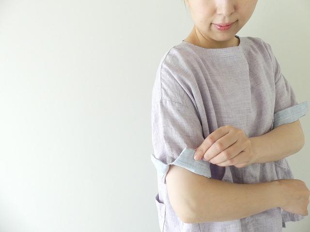 サマーリネンシャンブレーBigポケットTシャツの商品画像9