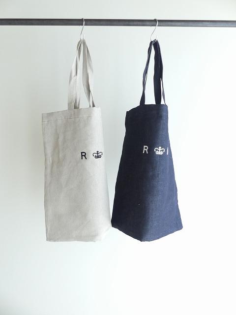 LINEN DENIM TOTE BAGの商品画像3