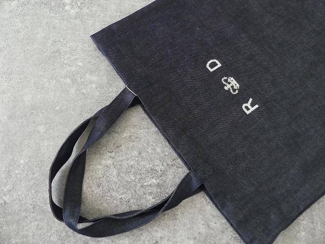 LINEN DENIM TOTE BAGの商品画像4