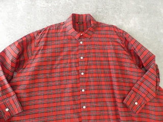 Cotton Silk DRAPE LONG SHIRTの商品画像16