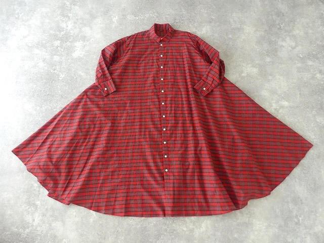 Cotton Silk DRAPE LONG SHIRTの商品画像3