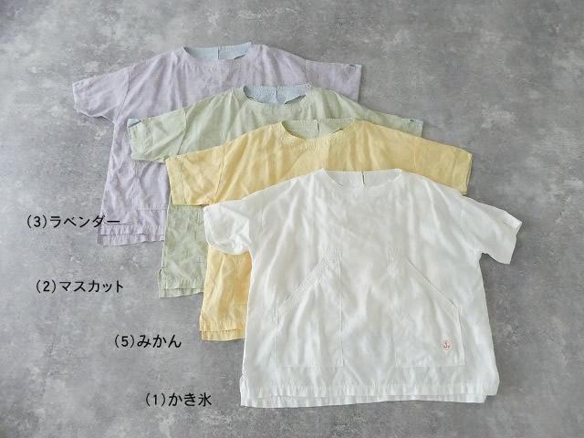 サマーリネンシャンブレーBigポケットTシャツの商品画像11