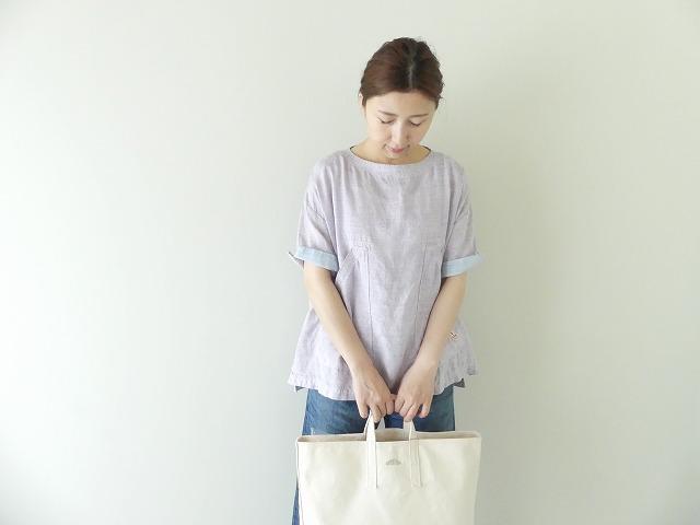 サマーリネンシャンブレーBigポケットTシャツの商品画像1