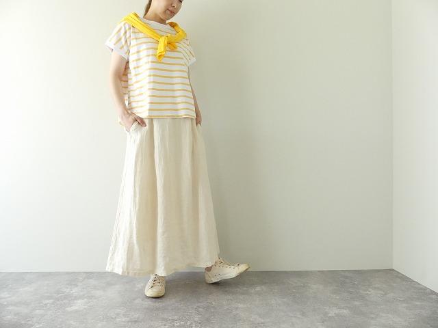 リネンデニムスカートの商品画像1