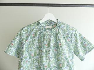 森のスタンドフリルシャツの商品画像18