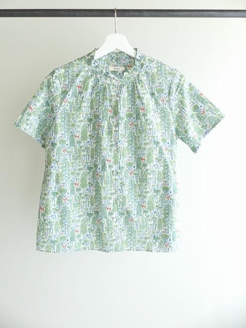 森のスタンドフリルシャツの商品画像2